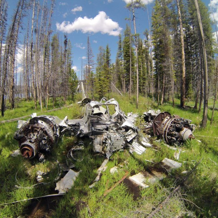 This Idaho Hike Leads To An Abandoned WWII Aircraf
