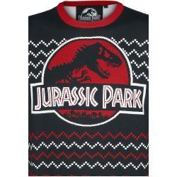 Photo of Jurassic Park Logo WeihnachtspulloverEmp.de