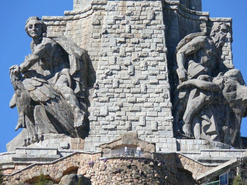 Base de la Cruz del Valle los Caídos MADRID