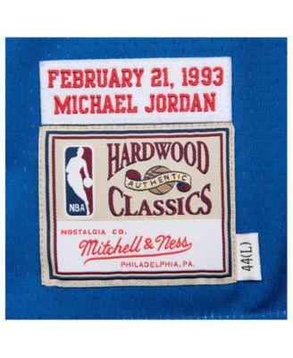 c47c345db Mitchell   Ness Men s Michael Jordan Nba All Star 1993 Authentic Jersey -  Blue XXL