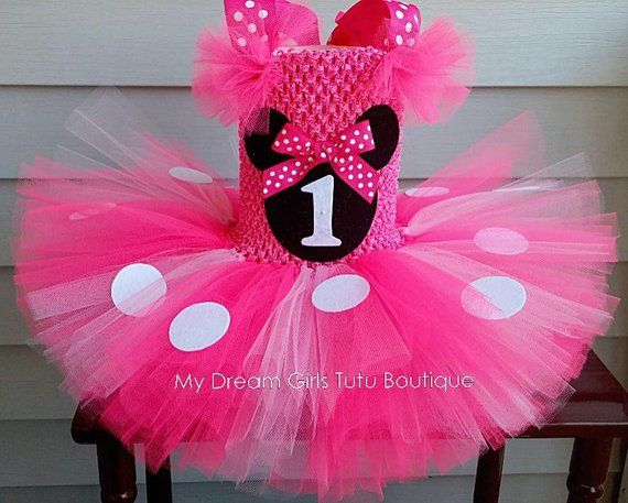 df07cef79 Minnie Mouse tutu dress