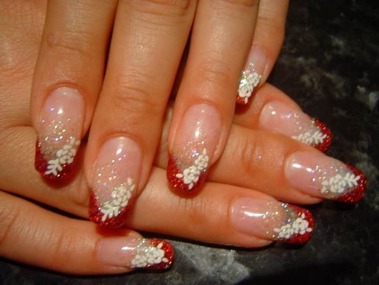 Red Wedding Nail Designs Red Wedding Nails Wedding Nail Art Design Bridal Nail Art