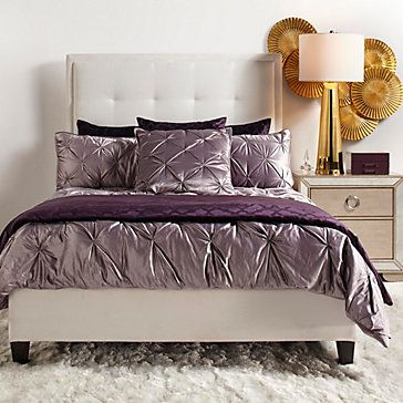 Avignon Bedding Amethyst Euro By Z Gallerie In 40 KC Master Extraordinary Avignon Bedroom Furniture Decor