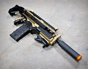 Nerf Stryfe Kriss Vector Black Gold