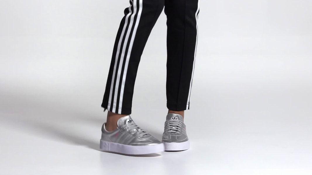 adidas silver samba