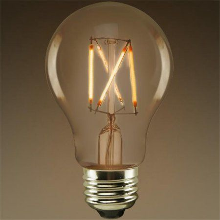 Household Essentials Vintage Light Bulbs Bulb Clear Glass