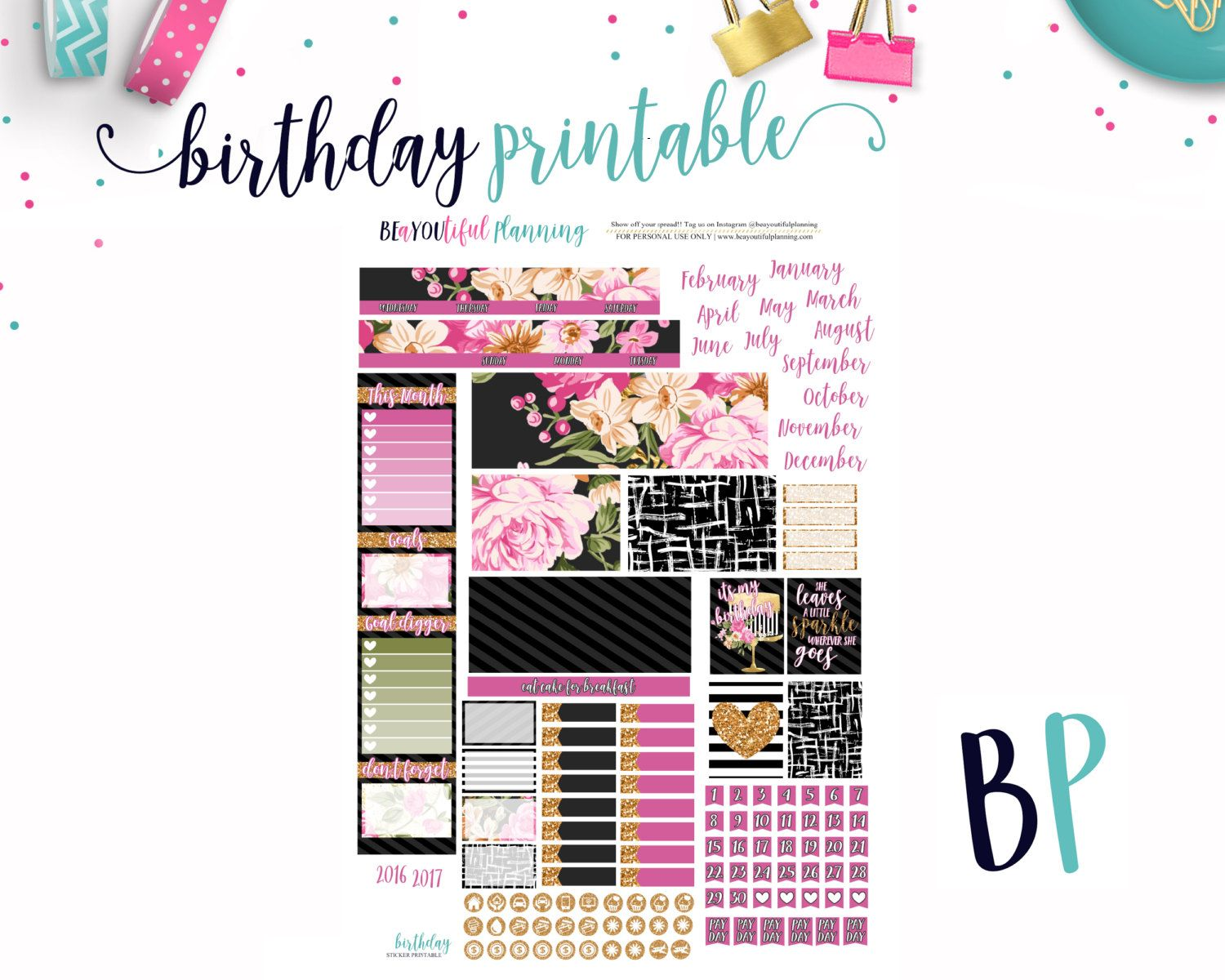 It is a picture of Epic Mini Happy Planner Template
