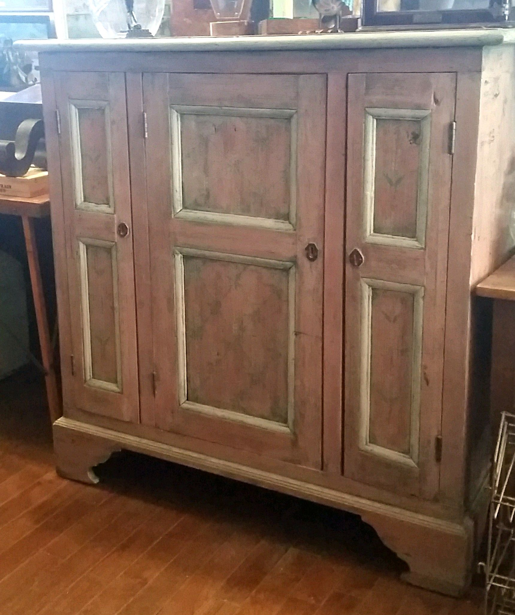 an 1850u0027s welsh pantry cabinet on sale today for 20 off