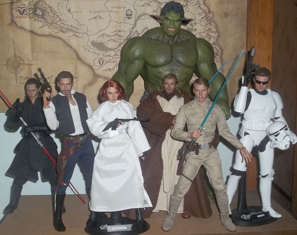 Avengers as Star Wars characters