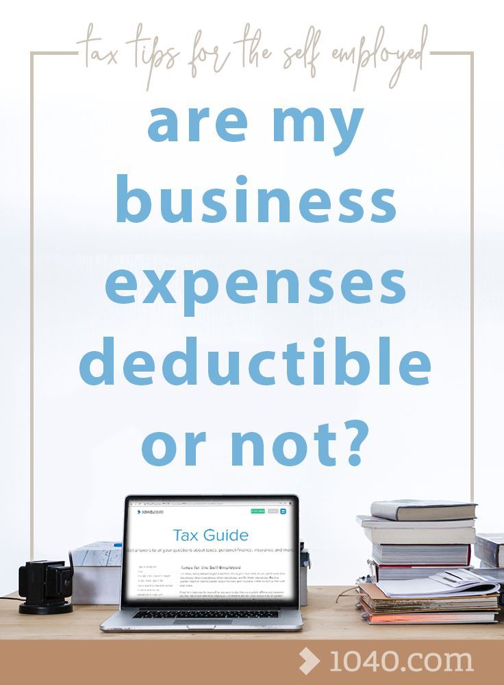 Are my business expenses deductible or not? Tax Tips