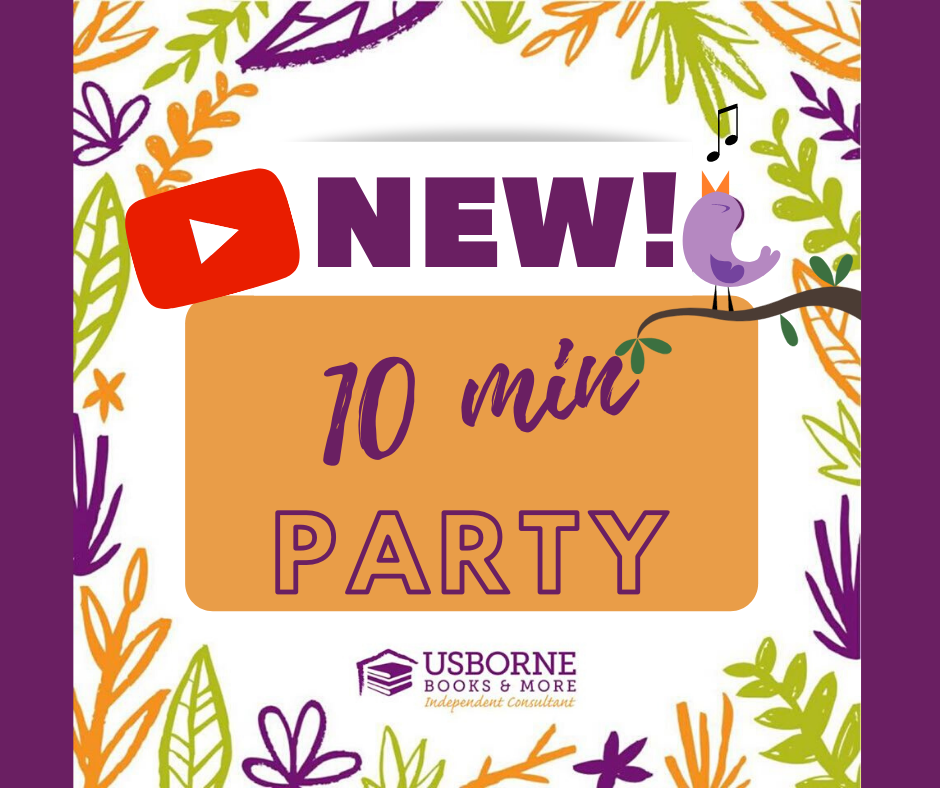 Party in 10 Minutes YouTube Usborne Books Party! in 2020