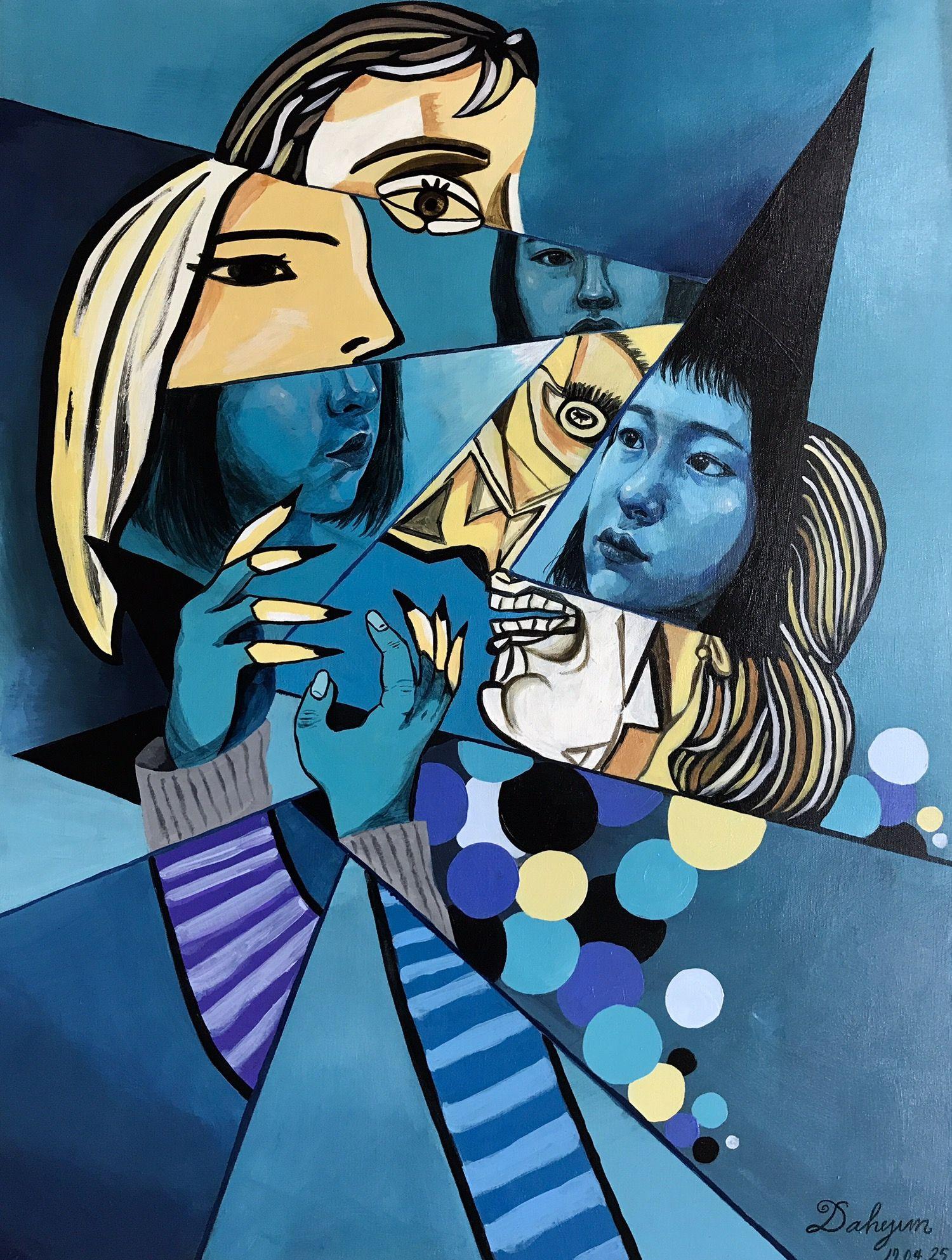 Insta Da Rtist Bwawm 04 25 Picasso Selfportrait