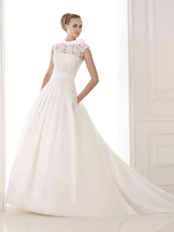 9622d770a74 Svatební šaty Pronovias Kaethe