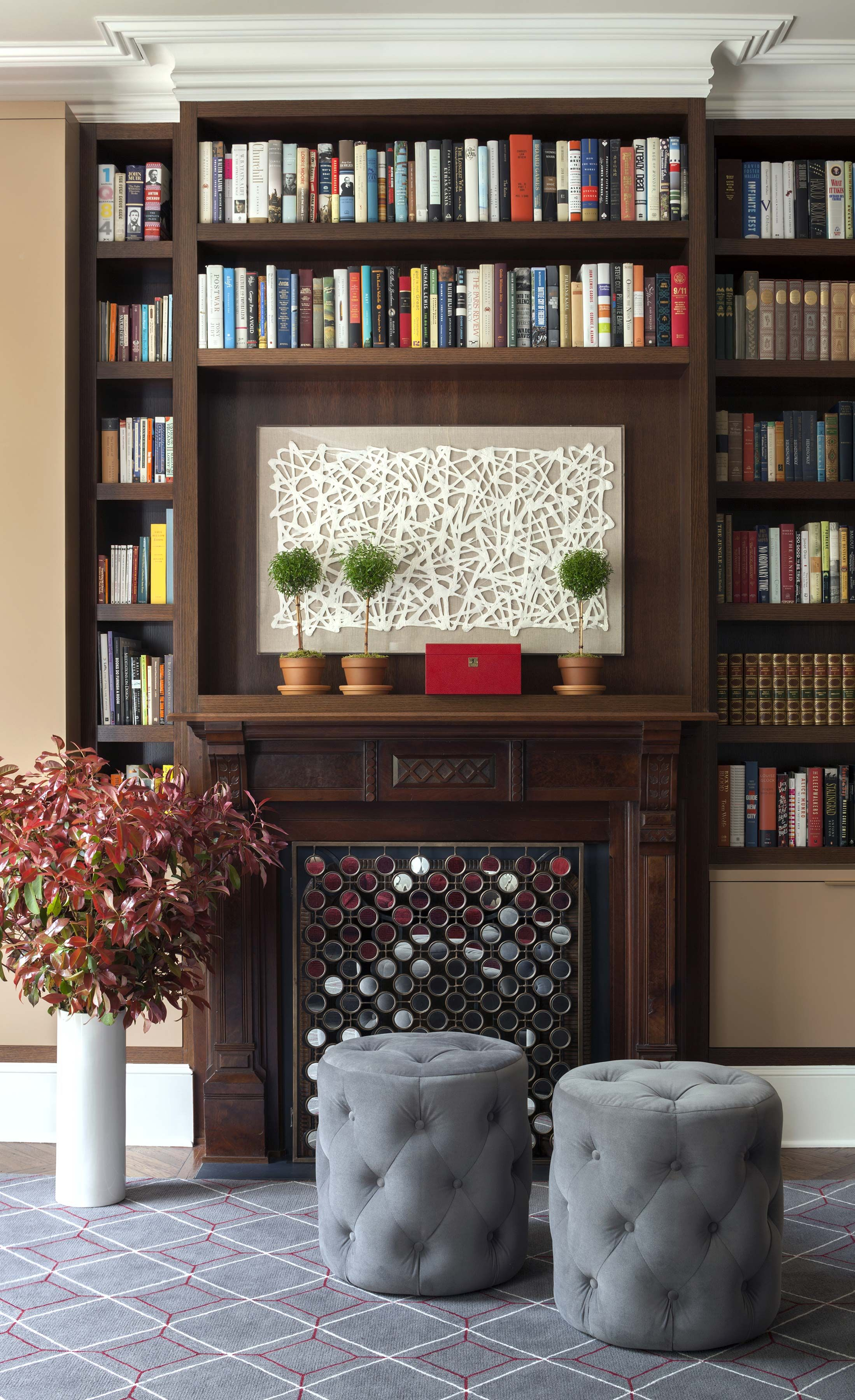 Townhouse Living Room Design: Brooklyn Heights Townhouse (With