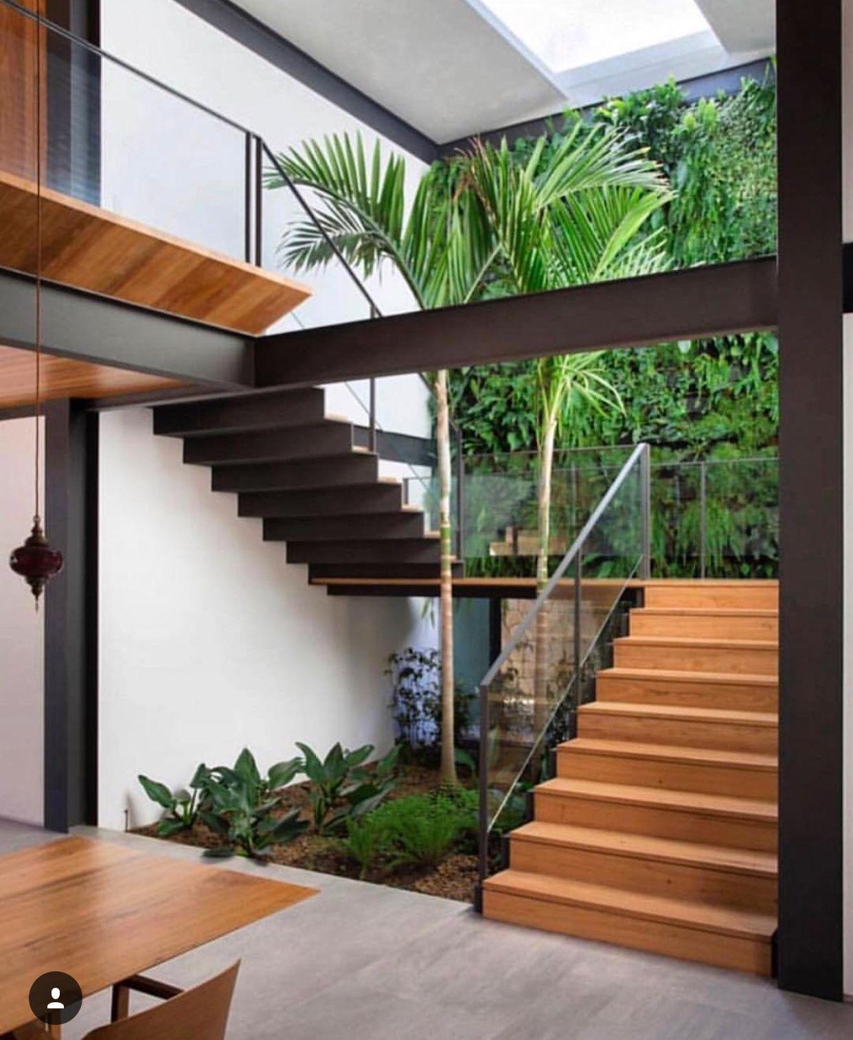 Jardines Y Escaleras Diseno Casas Modernas Disenos De Casas Casas De Ensueno