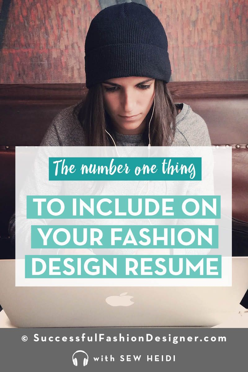 Fashion Design Job Nyc: Fashion Designer Resume: What You Need to Include (that no one does rh:pinterest.com,Design