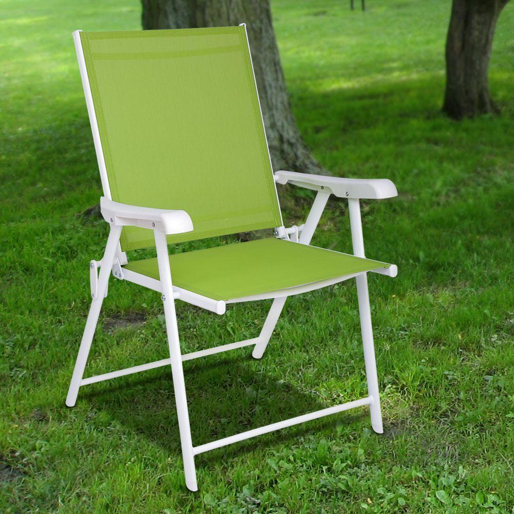 Green Diago Outdoor Foldable Chair Outdoor Folding Chairs Outdoor Chairs Outdoor
