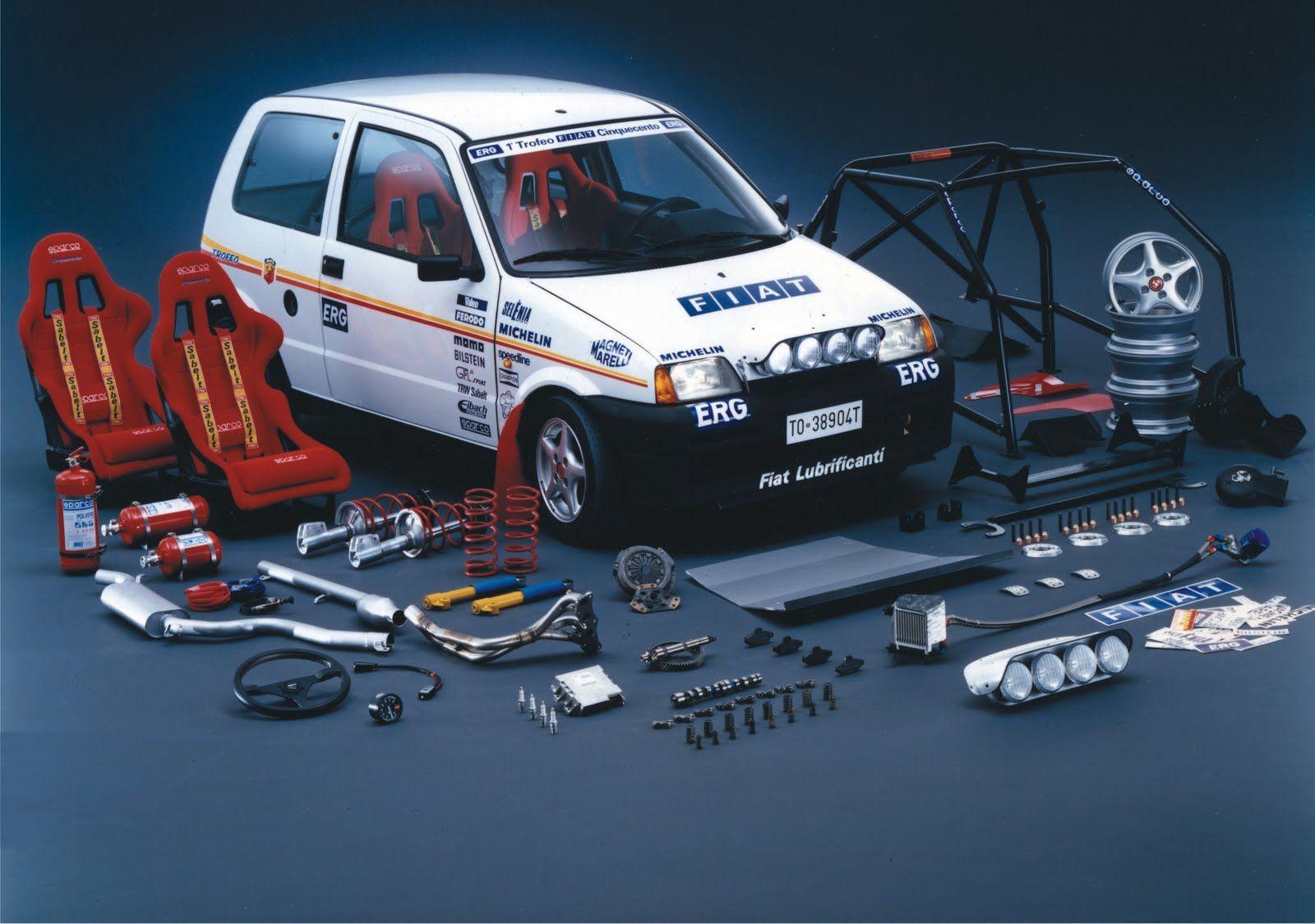 Fiat Cinquecento Trofeo Rally Pack Goruntuler Ile