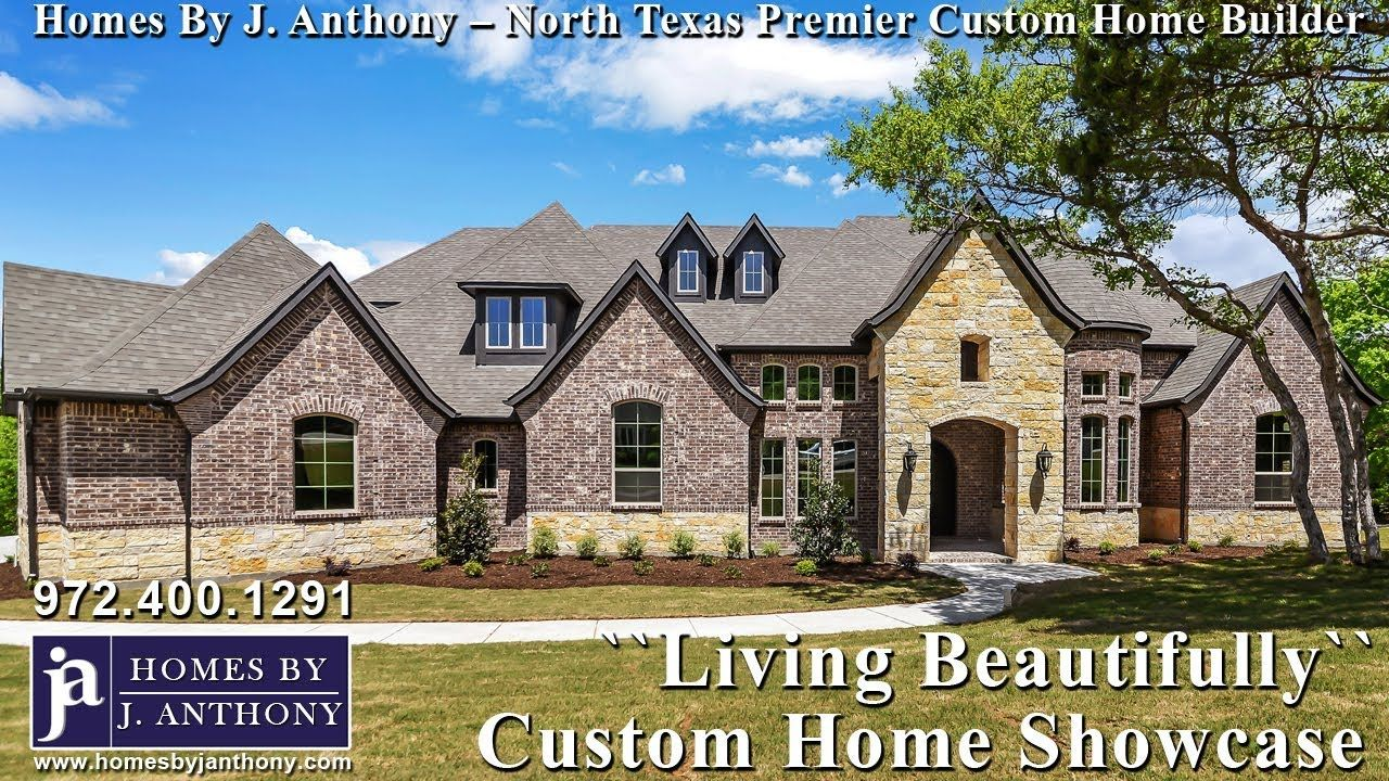 Custom Homes In Lucas Tx By J Anthony Dfw