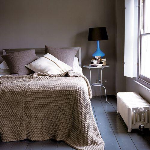 Wundervoll Pfirsich Schlafzimmer · Dunkel · Tagesdecken · Natural Fibers, Texture,  Warmth. Serene.