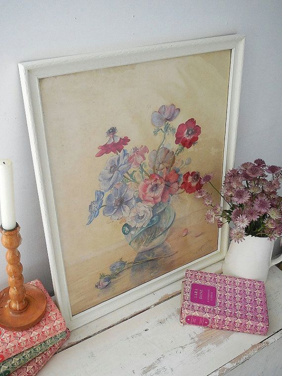 Check out this item in my Etsy shop https://www.etsy.com/uk/listing/477458340/beautiful-vintage-watercolour-painting