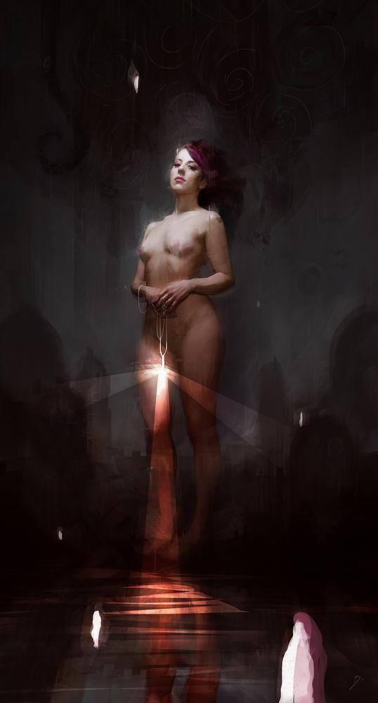 THE LIGHT BEARER by Bastien Lecouffe Deharme