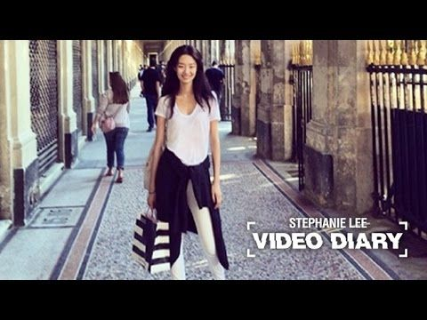 VIDEO DIARY 5TH : STEPHANIE LEE (Stephanie goes out on date) 스테파니 리의 다섯번째 비디오 다이어리 - YouTube