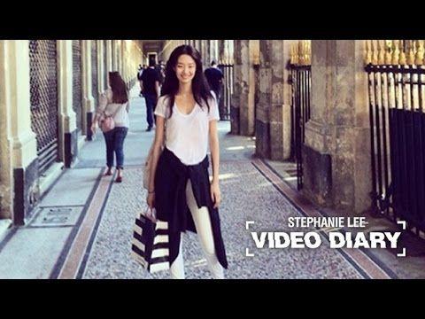VIDEO DIARY 5TH : STEPHANIE LEE (Stephanie goes out on date) 스테파니 리의 다섯번째 비디오 다이어리 - YouTube