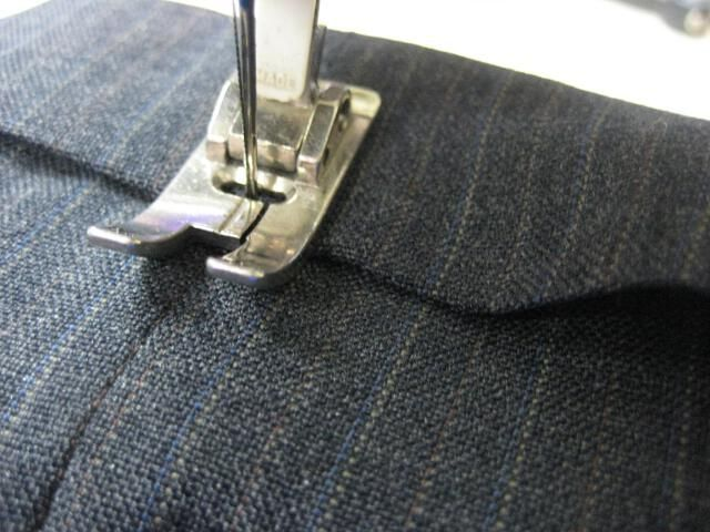 How To Hem Pants With A Cuff Shorten A Pants Hem With A Cuff Sewing Hems Sewing Items Couture Sewing