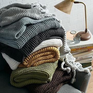 West Elm Throw Blanket Captivating Chunky West Elm Throw Blanket  For The Home  Pinterest Design Inspiration