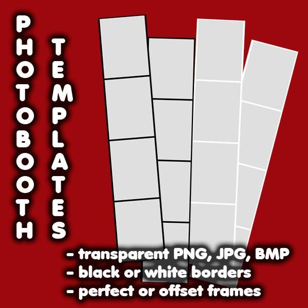 Photobooth Strip Templates A_FOTO_STRIP_IDEES Pinterest - po booth template