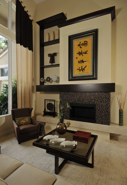 Nice 26 Sleek And Comfortable Asian Inspired Living Room Ideas