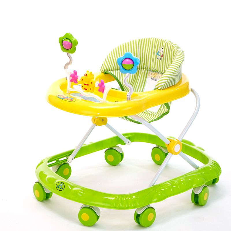 Baby Walker Portable Foldable Activity Play Tray Toy First Steps Learn Tools HOT
