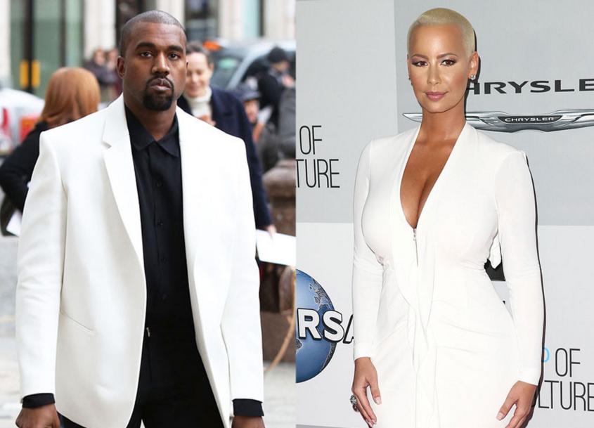 OMG! Amber Rose CLAIM She Used to FINGER Kanye West In Da