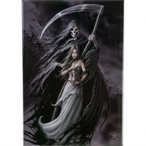 Anne Stokes Summon the Reaper fridge magnet