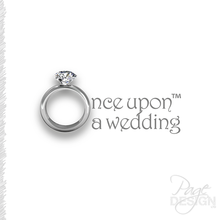 Logo for Once Upon a Wedding, NZ