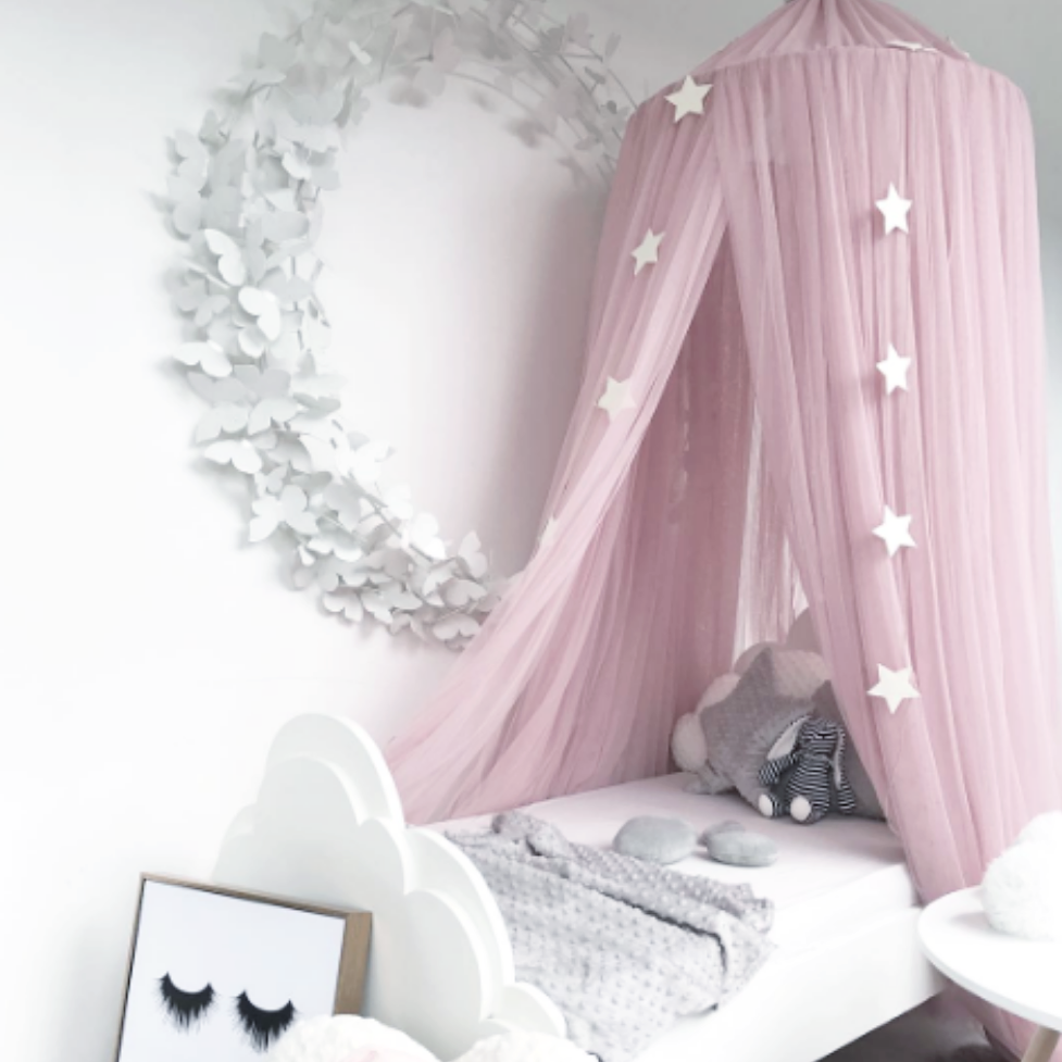 Create Magical Spaces With Our Sheer Canopy Add Some Creativity