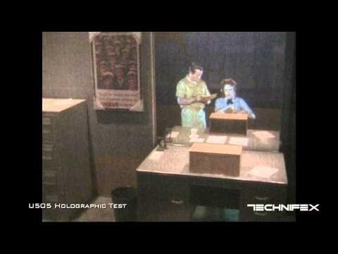 ▶ U505 Holographic Effect Test - YouTube
