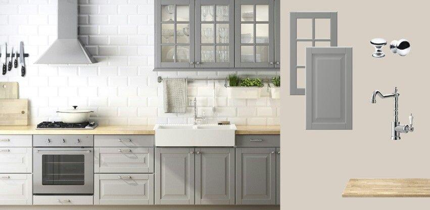 Ikea traditional Lidingo kitchen   Wohnung küche, Haus ...