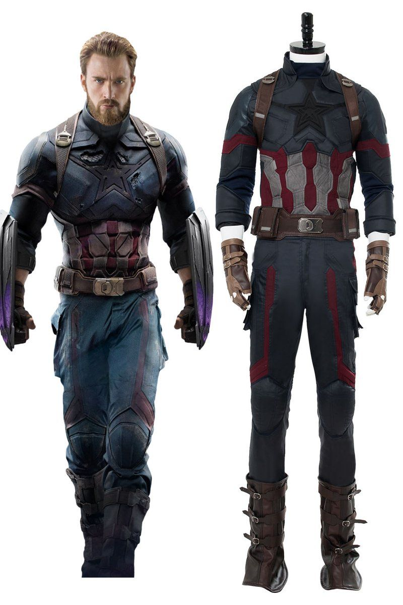 Avengers 3 Infinity War Captain America Steven Rogers Outfit
