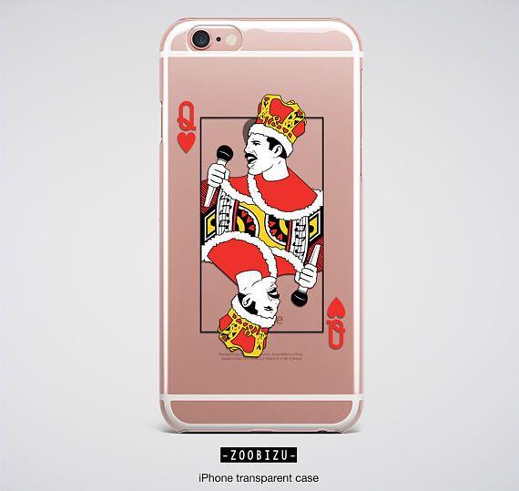 Queen iPhone 6s Case Freddie Mercury iPhone Case Clear iPhone ...