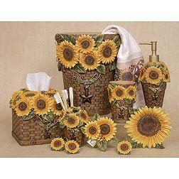 Blonder Sunflower Bathroom Collection Sunflower Home Decor Sunflower Bathroom Sunflower Kitchen