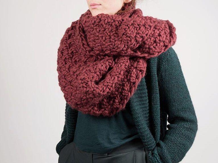 colori delicati compra meglio come ottenere Tutorial fai da te: Realizzare una sciarpa ad anello con ...