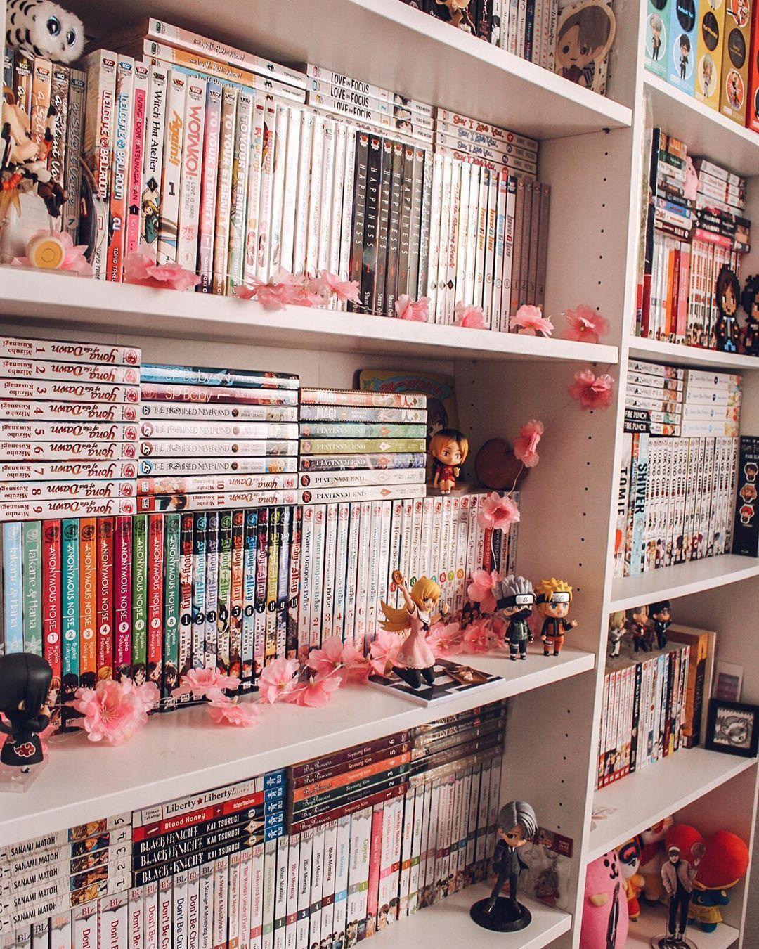 Manga Shelf In 2020 Kawaii Room Army Room Decor Cute Room Ideas