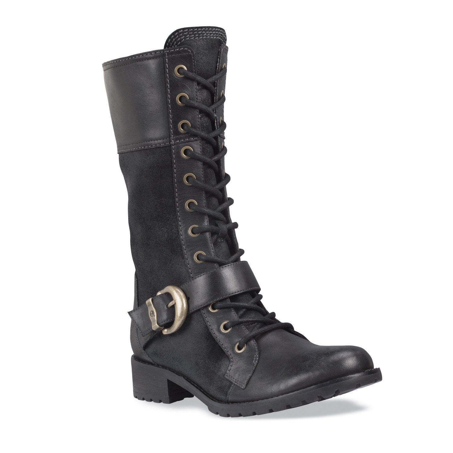 Plus Size Women's Timberland Earthkeepers™ Bethel Buckle Mid Lace Boot image