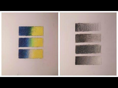 Polychromos: Farbverläufe - YouTube