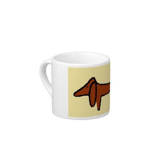 Famous Abstract Brown Dachshund