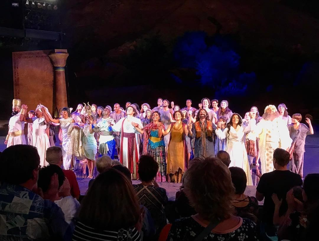 Audiences Can T Help But Give Standing Ovations For Prince Of Egypt Come To One Of The Last Five Remaining Shows T Prince Of Egypt Egypt St George Utah