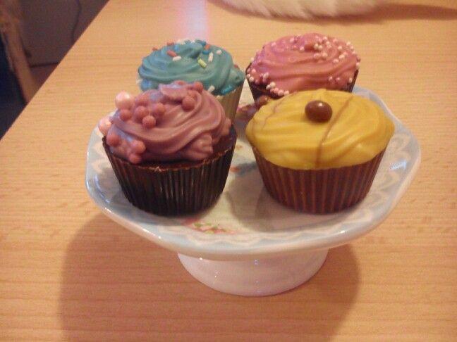 Bombones cupcakes