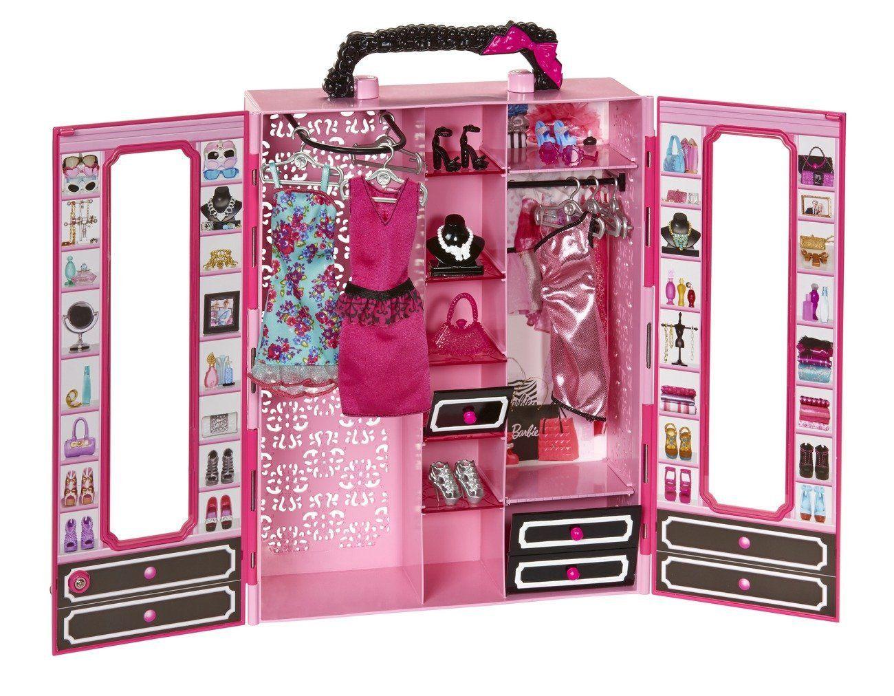 barbie armario style con accesorios mattel bmb amazones